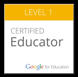 Google Certification Educator Level 1